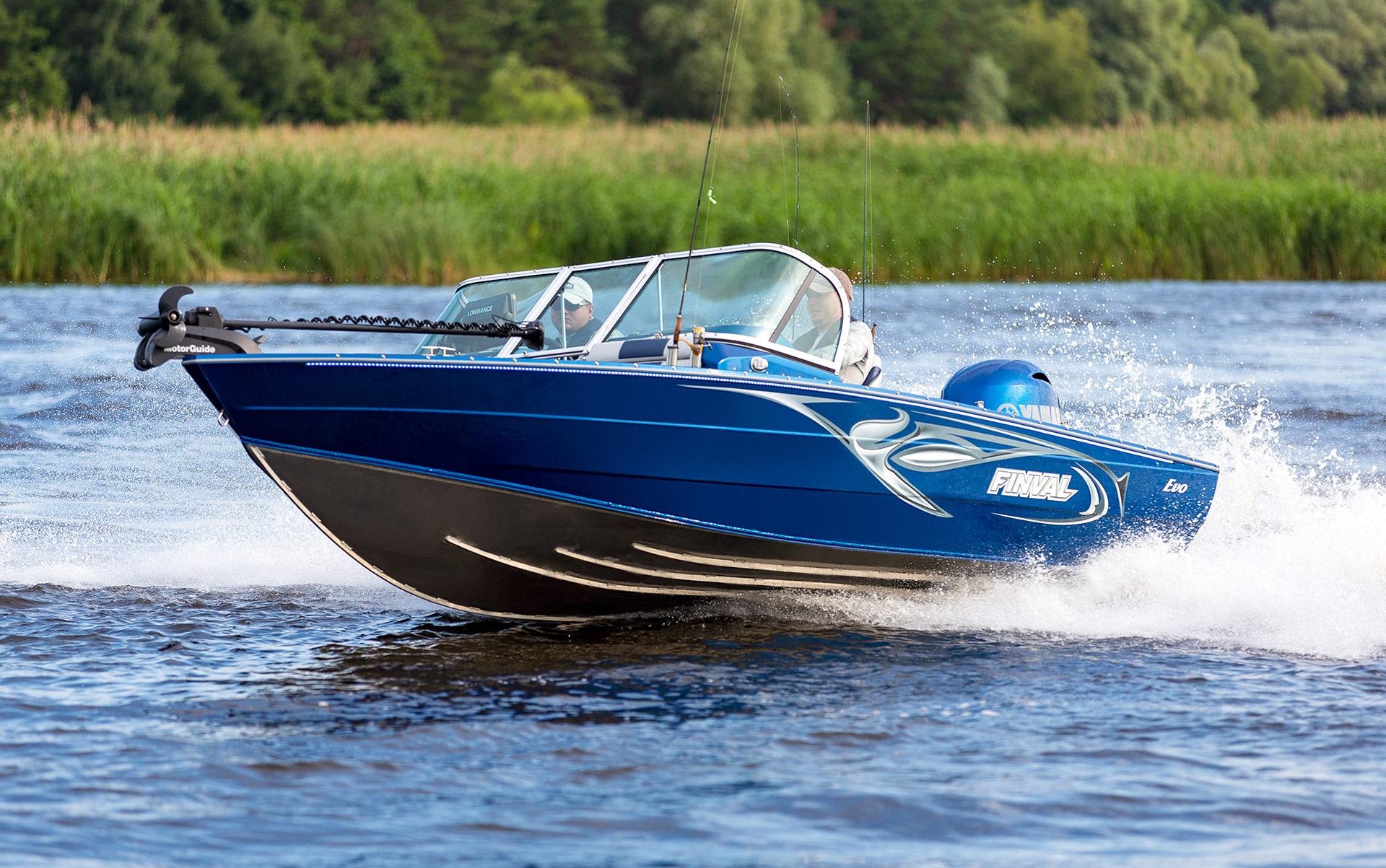FINVAL Boote aus Aluminium